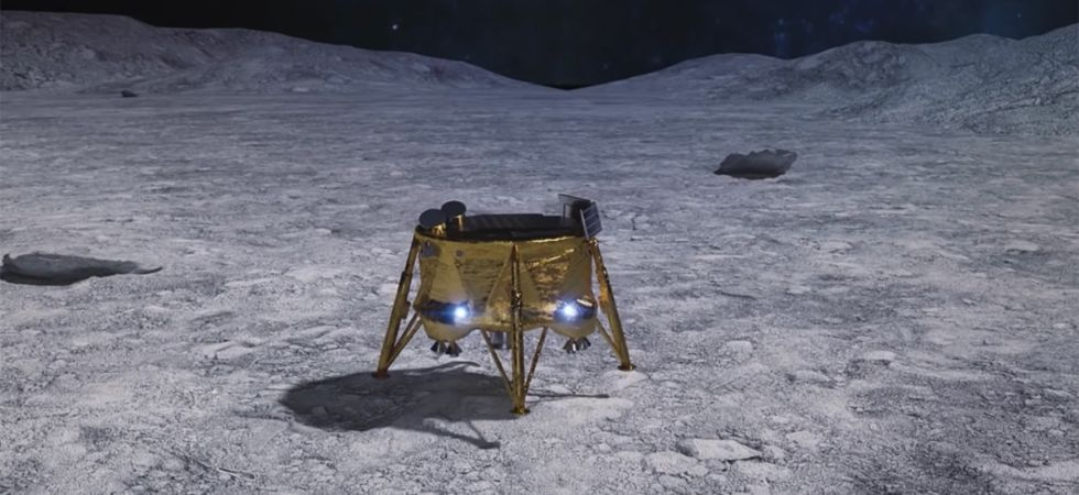 The lander, dubbed