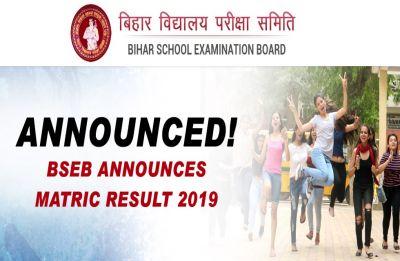 Bihar Board Result 2019 LIVE Now: With 97.2 per cent, Sawan Raj Bharti tops BSEB Matric exam