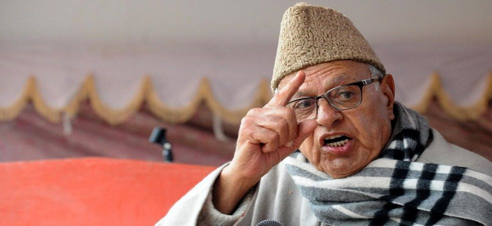 National Conference president Farooq Abdullah. (PTI/file)