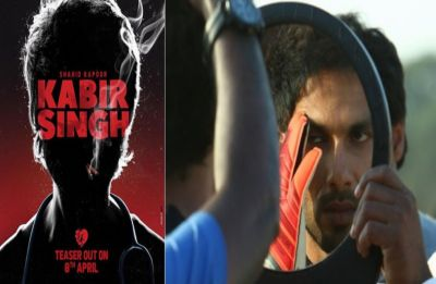 Shahid Kapoor's upcoming movie Kabir Singh's poster out! First teaser to release on April 08