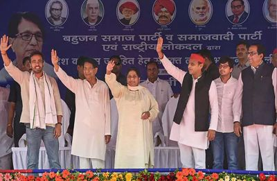 Uttar Pradesh Opinion Poll: 'Mahagathbandhan' may give tough fight to NDA, likely to win 41 seats