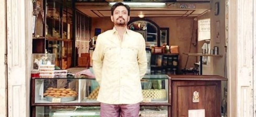 Irrfan Khan shared a picture from the set of the movie./ Image: Instagram