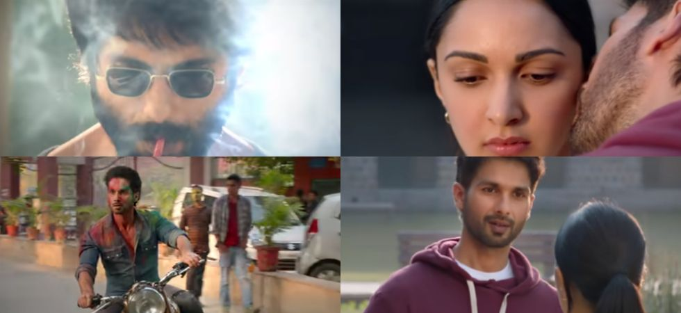 Shahid Kapoor is an angry doctor and lover in the teaser.