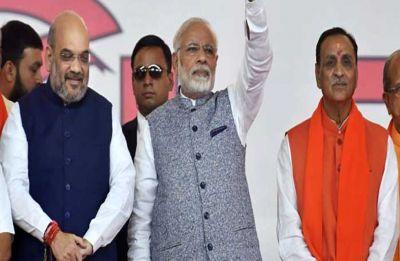 Gujarat Opinion Poll: BJP to grab 21 Lok Sabha seats in its bastion, Congress may win 5 seats