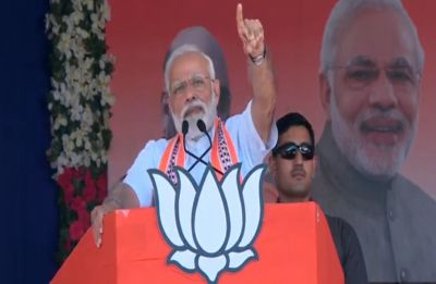 Congress indulging in 'Tughlaq Road' scam: PM Modi tears into political rival at Jungadh rally
