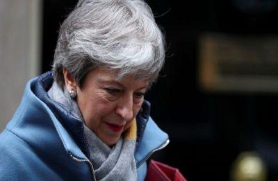 Theresa May seeks Merkel, Macron support for Brexit delay