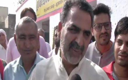 Check women in burkhas,' demands BJP minister Sanjiv Balyan
