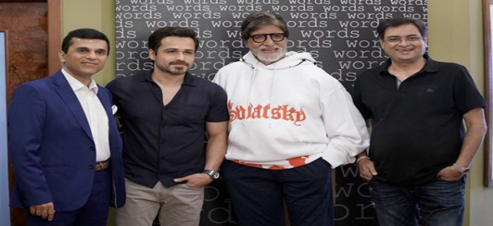 Amitabh Bachchan and Emraan Hashmi team up for mystery thriller./ Image: Instagram