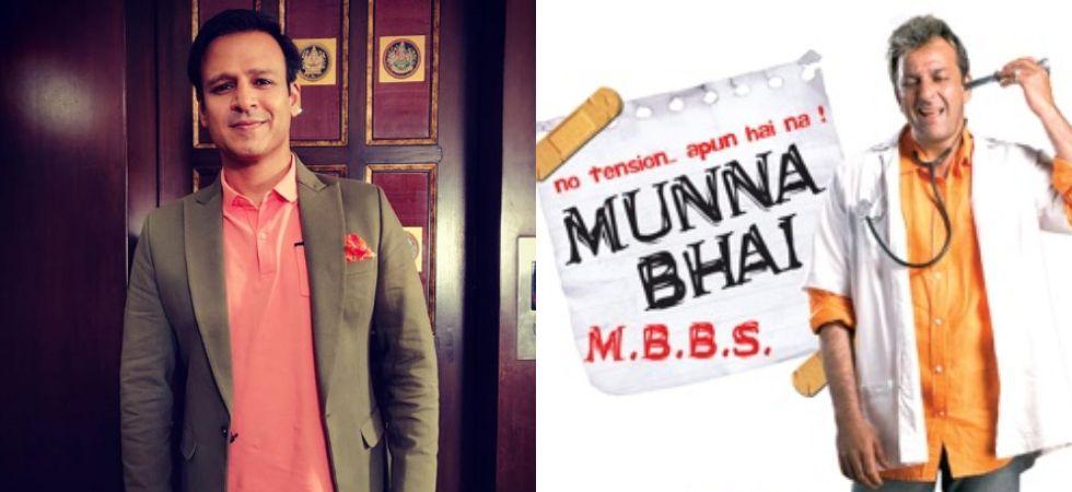 Vivek Oberoi was the first choice for Munna Bhai MBBS.