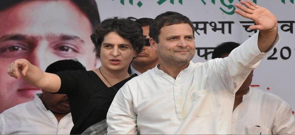 Rahul and Priyanka Gandhi will hold separate rallies in Gujarat next week. (File Photo: PTI)