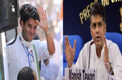 Congress releases new list, fields Scindia from Guna, Manish Tewari from Anandpur Sahib
