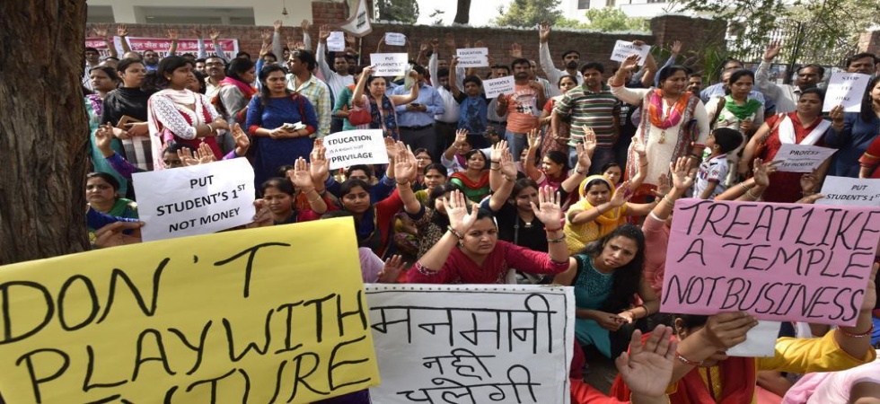 Parents protest over fee hike at Delhi private school (Representational Image)