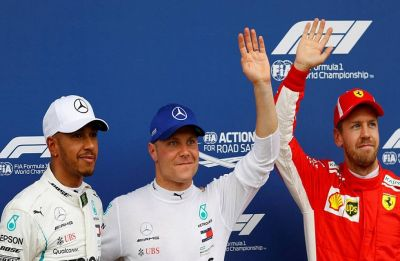 Valtteri Bottas pips Lewis Hamilton to pole position in historic Chinese Grand Prix