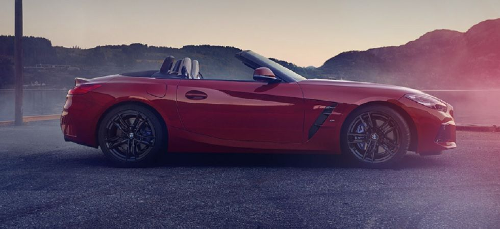 BMW launches new Z4 Roadster in India (Image credit: BMW website)