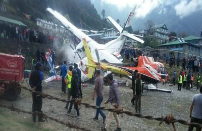 2 killed, 5 injured in plane crash at Tenzing–Hillary-Lukla airport in Nepal