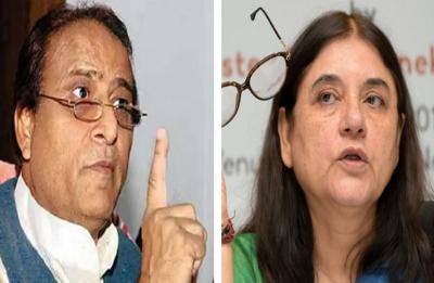 EC bans Azam Khan, Maneka Gandhi from campaigning for poll code violation
