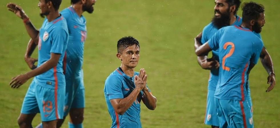 Sunil Chhetri hoped that the club gets a ground to host its AFC Cup matches. (File Photo: Twitter)