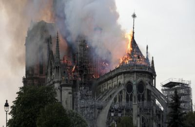 Notre Dame fire extinguished, says Paris fire service, focus shifts to rebuilding