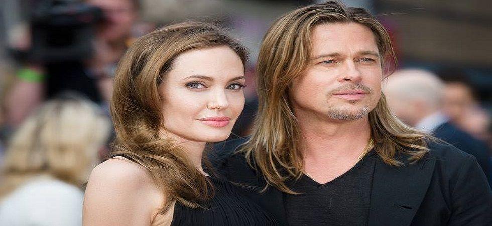 Angelina Jolie drops Brad Pitt's last name (file photo)