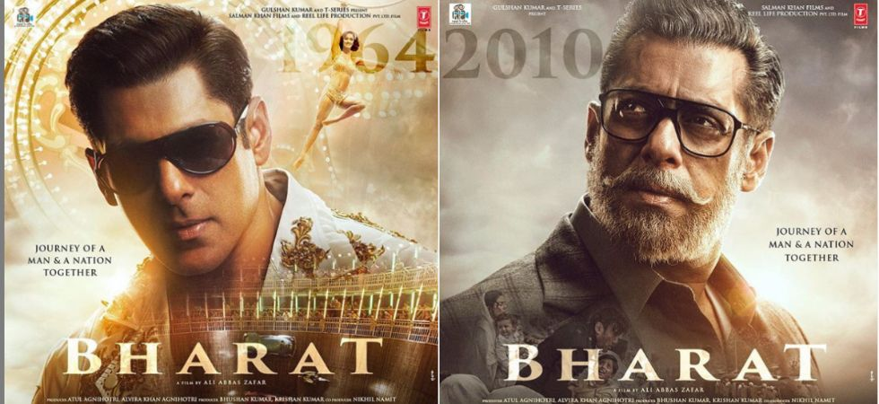 Salman Khan and Disha Patani oozes 60's charm in new poster of Bharat