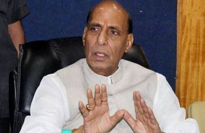 Rajnath Singh files nomination from Lucknow, Opposition yet to find a candidate against him