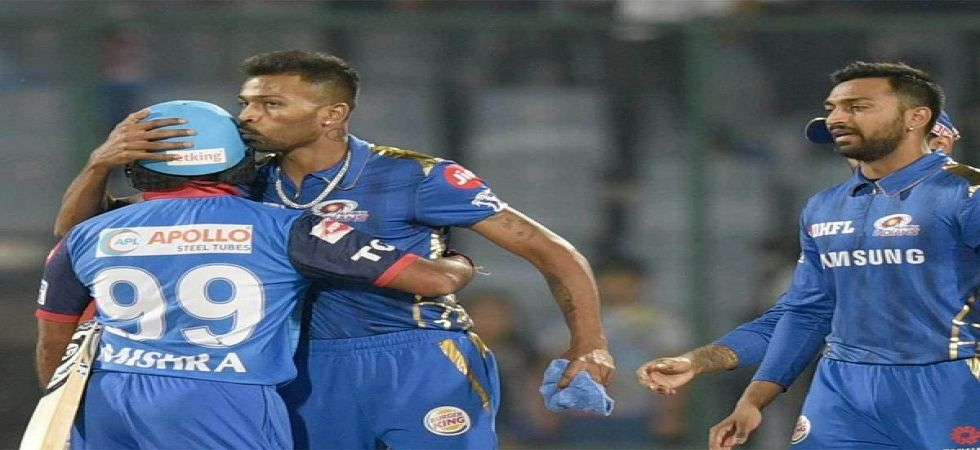 Hardik Pandya's blitz for Mumbai Indians helped Rohit Sharma's side win by 40 runs against Delhi Capitals. (Image credit: Twitter)