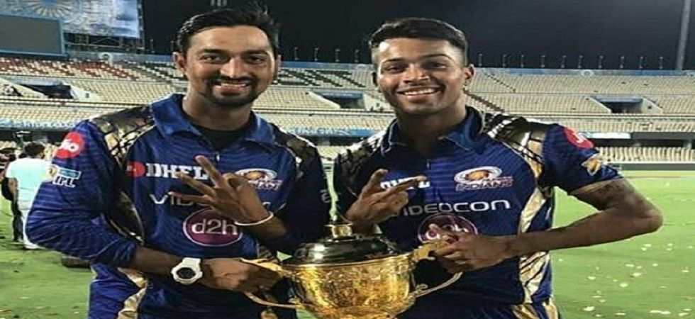 Hardik Pandya blasted 32 off 15 balls and his assault at the end helped Mumbai Indians beat Delhi Capitals by 40 runs to surge to second in the points table. (Image credit: Twitter)
