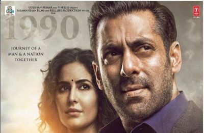 Salman Khan's obsession with Katrina Kaif continues; Bharat's fifth poster featuring lead pair underlines pain behind smiling faces