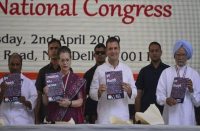 Congress issued notice by Allahabad HC over mention of Nyay scheme in election manifesto