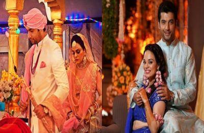 Sharad Malhotra-Ripci Bhatia wedding: Check out first PHOTOS of newlyweds