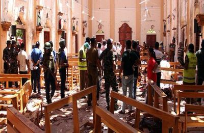 215, including three Indians, killed as eight blasts rock Sri Lanka on Easter Sunday, curfew imposed