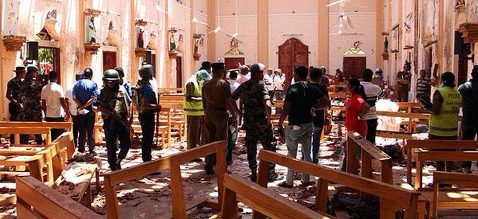Serial blasts rock Sri Lanka
