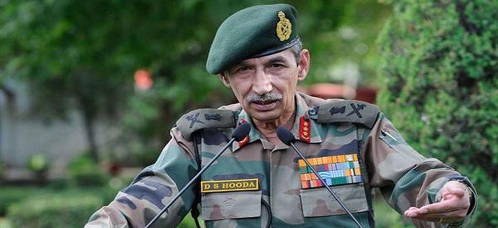 Lt General (retd) DS Hooda. (PTI/file)