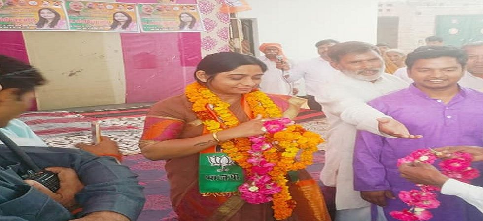 Budaun Lok Sabha constituency will vote in the third phase of the Lok Sabha elections on April 23 (Photo: Facebook: Sanghamitra Maurya)