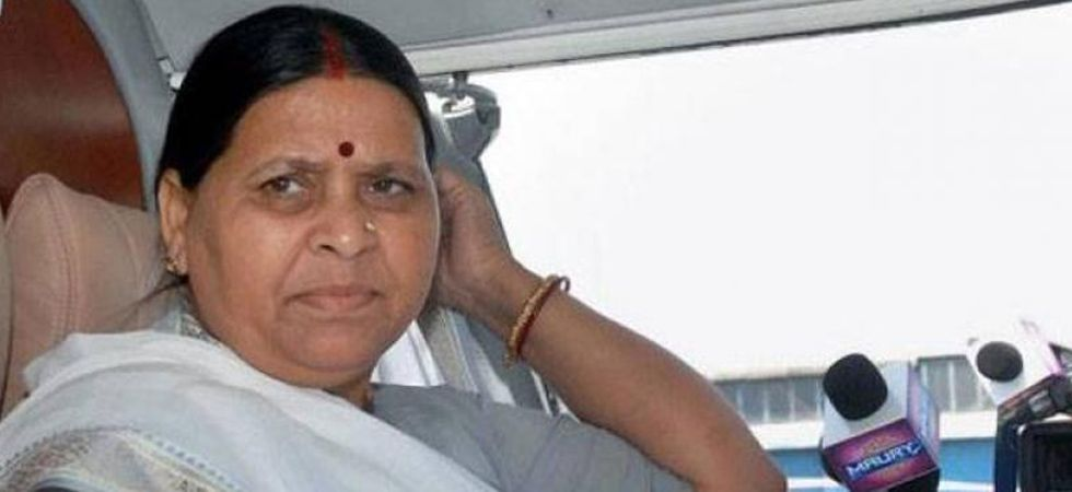 Rabri Devi said their dictatorship will not be accepted. (File Photo: PTI)
