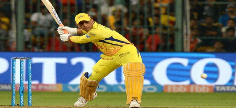 MS Dhoni blasted 24 runs in the final over but Chennai Super Kings lost by one run to Royal Challengers Bangalore. (Image credit: Twitter)