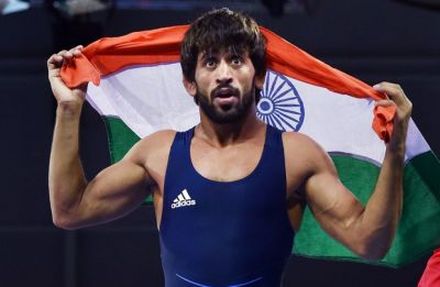 Bajrang Punia wins gold in Asian Wrestling Championship