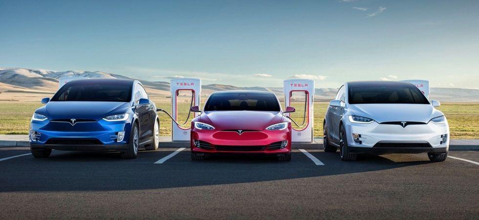 Tesla cars (File Photo)