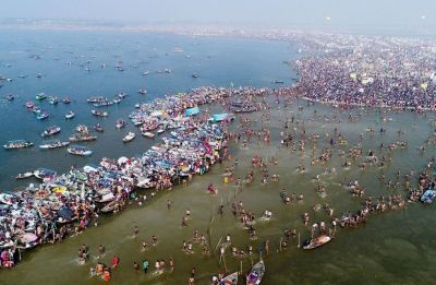 Post-Kumbh waste rots on banks of Ganga, Green Court warns of epidemic in Prayagraj