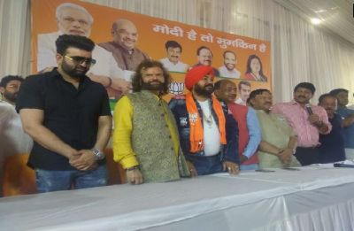 Singer Daler Mehndi joins BJP ahead of Lok Sabha elections in Punjab