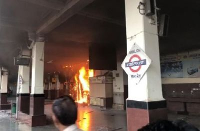 Fire breaks out Gwalior station canteen, no casualty reported