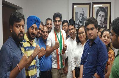 I will eliminate BJP from South Delhi Lok Sabha seat, says Vijender Singh