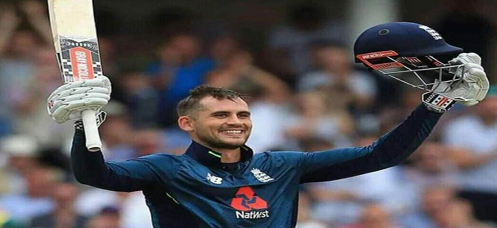 Alex Hales has failed a recreational drug test and has been suspended for 21 days. (Image credit: Twitter)