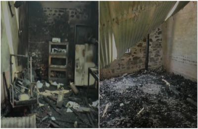 Manipur's second oldest Catholic school burnt down by 'angry students' over disciplinary action