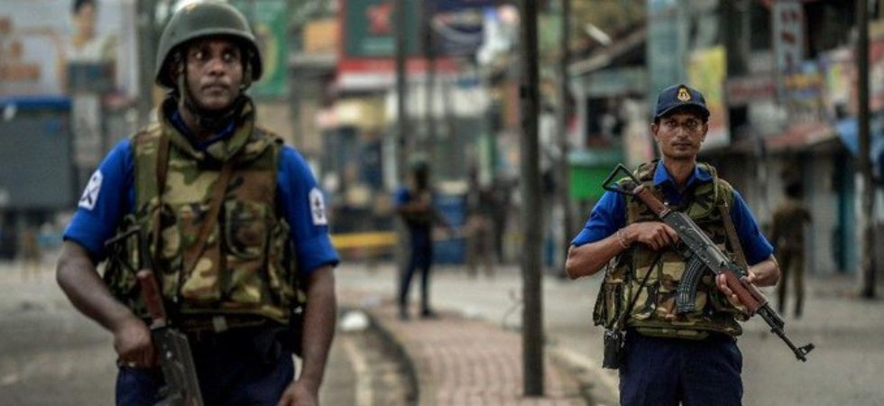 Sri Lanka security forces (Photo Credit: Twitter/ @DDNewsLive)