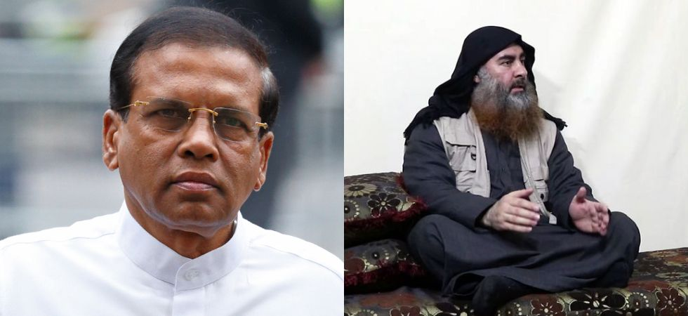 Sirisena to ISIS chief Baghdadi (File Photo)