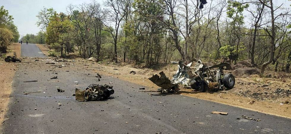 IED Blast in Maharashtra's Gadchiroli (Photo Source: PTI)