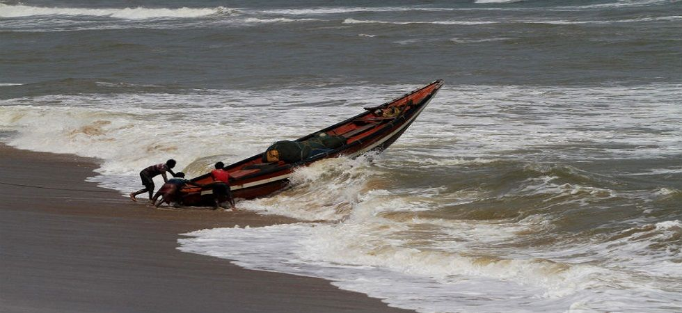 Fani is likely to make landfall at Odisha coast between Gopalpur and Chandbali anytime after Friday afternoon, with wind speed of up to 200 km per hour. (Photo: ANI)