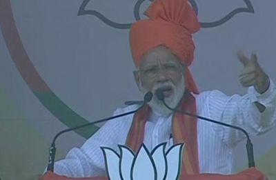 In Rajasthan's Karauli, PM Modi's 'IPL' bouncer at Congress over terrorism