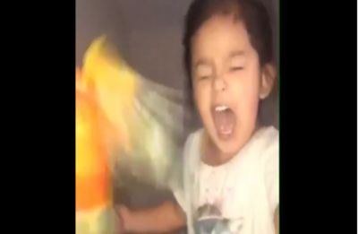 Adorable! This little genius is dubbed real life 'Mother of Dragons' for her parrot trick